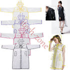 Fashion Runway Transparent Clear Pvc Rain Coat Festival Waterproof Jacket Poncho