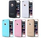 Luxury Hard Back + Metal Bumper Hybrid Full Protector Case for iPhone 6 6S Plus