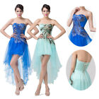 PEACOCK Formal Prom Dress Bridesmaid Ball Gown Evening Party Homecoming Dress