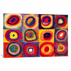 Wassily Kandinsky Squares with Concentric Circles | Canvas Art Print