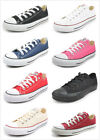 Converse All Star Chuck Taylor Low Top Trainers 6 Colors Size 2-10 Women & Men