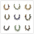 Interesting 16pcs Mixed Gemstone Pendant Bead Set Z15121101 ( As Picture)