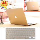 """2in1 Glossy Metallic Gold Hard Case+KB Cover For Retina Pro 13""""  Air 11/13""""-inch"""