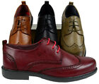 Men's Sedagatti Dress Shoes Formal Oxford Wedding Wing Tip Casual Prom New