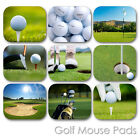 GOLF BALL SPORT COURSE COUNTRY CLUB HOLE CUSTOM MOUSE PAD MOUSEPAD (SM-01)