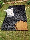 Shed Bases ECO Pavers Pathways - Various Sizes Includes Ground Cover & Pins