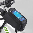 New Roswheel Cycling Bicycle Bike Frame Pannier Front Tube Bag Cell Phone Holder
