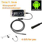 1/1.5/2/3.5/5M Android Endoscope Waterproof Inspection Camera Micro USB