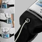 SPORTS RUNNING JOGGING GYM WAIST BAND BELT POUCH CASE PHONE HOLDER / EARPHONES