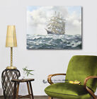 Sail Boat Stretched Canvas Print Framed Wall Art Home Office Decor Painting Gift