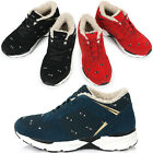New Athletic Winter Warm Lace Up Hidden Taller Insole Womens Casual Shoes Nova