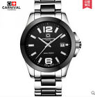 Carnival Women Automatic Watch Ceramic WR100M Date  Dress Watch Lovers Watches
