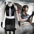 Final Fantasy VII Tifa Lockhart Faux Leather Deluxe Cosplay Costume Full Set