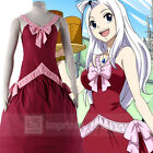 Fairy Tail Mirajane Strauss Cosplay Costume Full Set