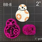 Star Wars BB-8 Fondant Cutter / Cupcake Topper Starwars Droid BB8 Starwars $20.0 USD