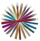"""100 x Strands Holographic Sparkle Hair Tinsel / Extensions / Dazzles - 47"""" Long"""