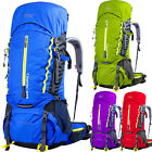 60L Waterproof Outdoor Backpack Sports Camping Travel Hiking climbing Bag Large
