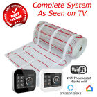 Electric Underfloor Heating mat kit 200w per m2 All Sizes in this Listing (BDW)