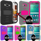 Rugged Case Cover For Samsung Galaxy Core Prime With  Built-In Screen Protector