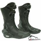 Spada X-RACE Motorcycle Motorbike Leather Sports Boots Waterproof Breathable