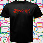 New MINISTRY Band Logo Men's Black T-Shirt Size S to 3XL