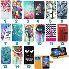 Huawei All Mobile Phones Leather Wallet Kickstand Bag Case Cover