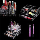 Acrylic Cabinet Box Drawers Cosmetic Organizer Jewelry Storage Clear Makeup Case