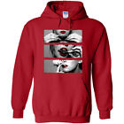 New women Sexy longsleeve Hoodie Blunt Roll Red Sexy Lip Sweetshirt pullover Top