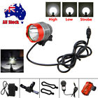 8000Lm CREE XML T6 LED Cycling Front Head Bicycle Bike Light HeadLight Battery