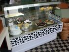 Serve Over Counter Flat Glass 1.5m Fridge Display Commercial Catering