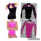 GYMNASTICS LEOTARD / LEOTARDS ZONE ASTRAL  SIZES 24- 34  AGES 3 - 15 FROM £25.95