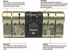 IronGuard 3 Star TS007 Sold Secure Euro Cylinder Anti Snap Door Lock Upvc