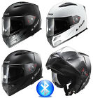LS2 FF324 METRO BLUETOOTH FLIP FRONT FULL FACE MOTORCYCLE MOTORBIKE CRASH HELMET