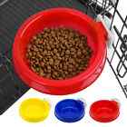 Plastic Cat Bird Dog On Cage Bowl Cage Coop Cup Hanger Crate Food Water Bowl