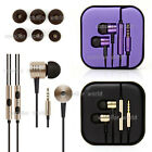 Stereo In-ear Earphone Headphone Headset With Remote Mic For Xiaomi Iphone