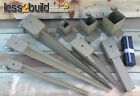 """2,3&4"""" Timber Fence Post Grip Support Spike Bolt Down Repair Spike Like Metpost"""