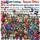 Lego & Custom mini figures Batman Ninjago Star Wars Marvel Hero minifigures Sets