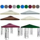 Garden Pavilion Gazebo Replacement Top Fabric Roof Canopy Shelter