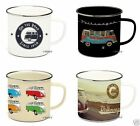 Official VOLKSWAGEN Collection Enamel Tin Plate Mug
