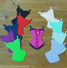 8 Girl Die Cuts - Sexy Basque/Corset - Valentine - Mothers Day - Birthday/Cards