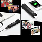 Handy Bluetooth Wireless Speaker FM Radio LED Flashlight Mobile Phone Charger
