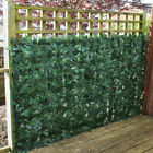 Artificial Hedge Ivy Leaf Garden Fence Roll Privacy Screen Balcony Wall Cover 3m