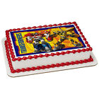 Transformers Let's Roll Frosting Sheet Cake Topper