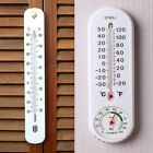 Home Garden Decor Thermometer Hygrometer Fahrenheit Celsius Degree Weather Meter
