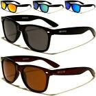 NEW BLACK POLARIZED SUNGLASSES MENS LADIES DESIGNER WAYFARER LARGE VINTAGE RETRO