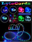 LED Glowing Light Up USB Charger Charging Cable Cord iPhone 5/6/7/8/X 3 Ft 6 Ft