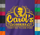 The Walking Dead CAROL'S COOKIES Ringspun Cotton T-Shirt Daryl Rick Zombie Tee
