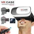 VR Virtual Reality 3D Glasses Headset BOX +Bluetooth Controller For Mobile Phone