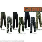 MENS ARMY COMBAT TROUSERS 30-46 CAMO CARGO PANTS BIKER WORKWEAR HIKING GAME