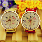Fashion Watches Aristocratic Strap Analog Faux Leather Cat Womens Wrist Watch